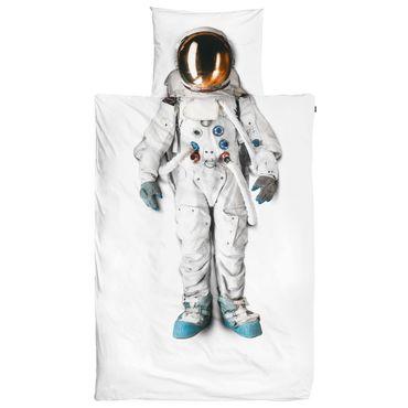 Snurk Bettwäsche Astronaut 135 x 200 cm 100% Baumwolle