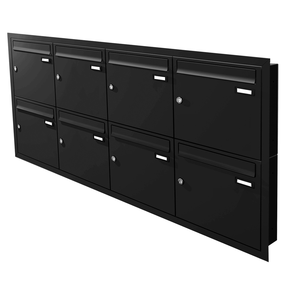max knobloch unterputz briefkastenanlage 1 12. Black Bedroom Furniture Sets. Home Design Ideas