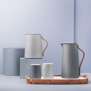 Stelton Emma 2er Set Thermobecher grau 0,2 Liter – Bild 2