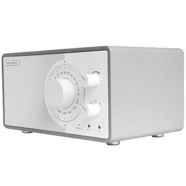 THE+AUDIO PlusRadio Analogradio (UKW, Mittelwelle, Bluetooth 4.0) grau