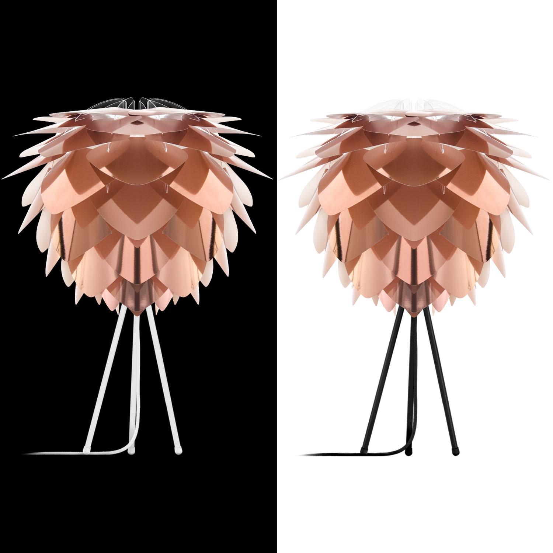 vita silvia lampenschirm weiss kupfer d 45 cm lampe m bel. Black Bedroom Furniture Sets. Home Design Ideas