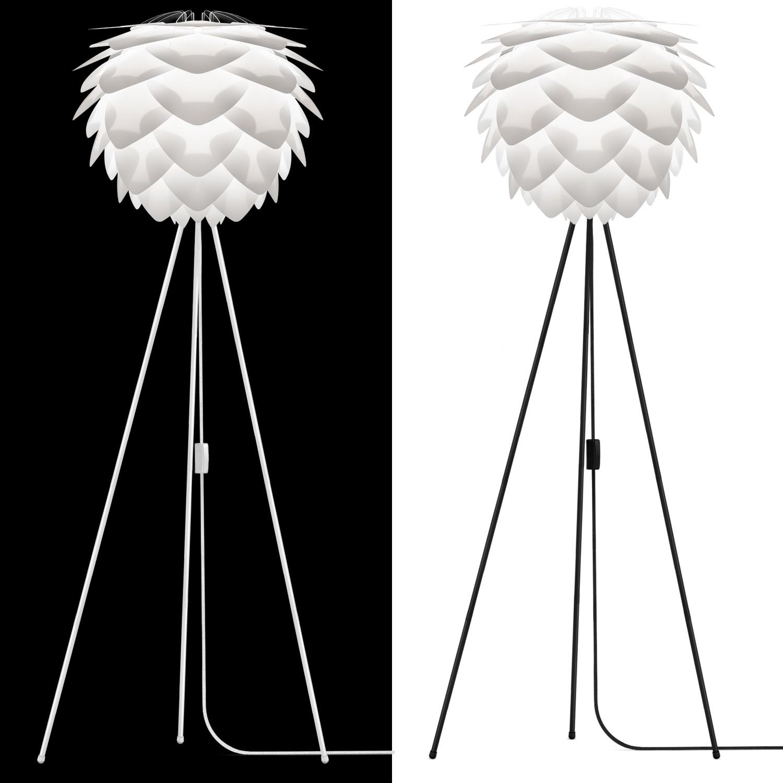 vita leuchte silvia stehlampe h 154 cm inkl tripod schwarz led a stehleuchte ebay. Black Bedroom Furniture Sets. Home Design Ideas