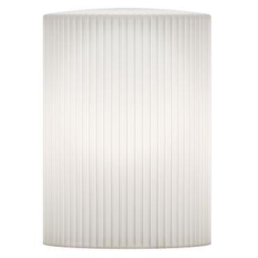 Umage / VITA Ripples Cusp Lampenschrim weiss 15 x 15 x 21 cm Lampe