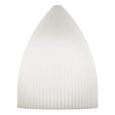 Umage / VITA Ripples Slope Lampenschrim weiss 15 x 15 x 19 cm Lampe