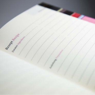 Remember TasteBook Dots 22,5 x 17,5 x 2,5 cm Rezept - Sammelbuch – Bild 7