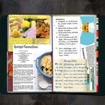 Remember TasteBook ZigZag 22,5 x 17,5 x 2,5 cm Rezept - Sammelbuch – Bild 2