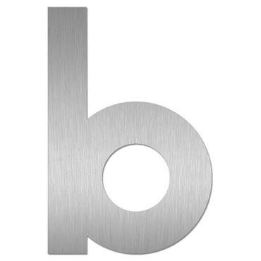Heibi Hausnummer MIDI Buchstabe b Edelstahl 64481-072