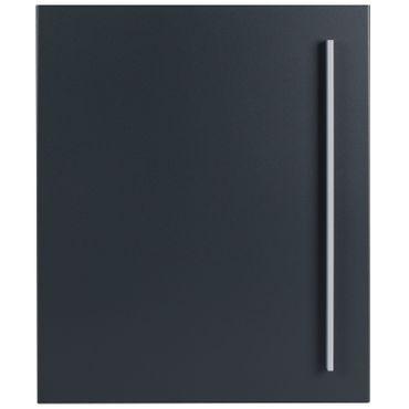 Design-Standbriefkasten + Zeitungsfach anthrazit-grau (RAL 7016) MOCAVI SBox 110a mit Pfosten II (aufschrauben) – Bild 5