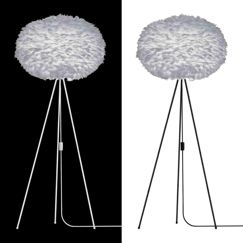 vita eos x large lampenschirm grau aus g nsefedern 75 x 45 cm lampe light grey 5710302020860 ebay. Black Bedroom Furniture Sets. Home Design Ideas