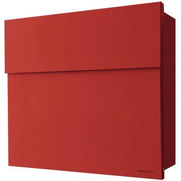 Radius Briefkasten Letterman 4 rot Wandbriefkasten 560r