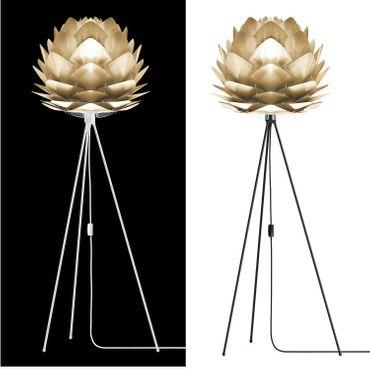 Umage / VITA Silvia Pendelleuchte Messing gebürstet Lampenschirm D 45 cm Lampe – Bild 3