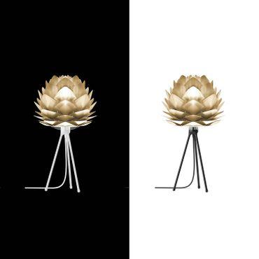 Umage / VITA Silvia mini Pendelleuchte Messing gebürstet Lampenschirm D 34 cm Lampe – Bild 4
