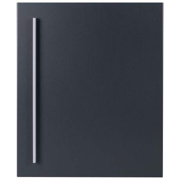 Standbriefkasten mit Zeitungsfach anthrazit-grau (RAL 7016) MOCAVI SBox 110R-b Briefkasten mit Pfosten (einbetonieren) Rechtsanschlag – Bild 8