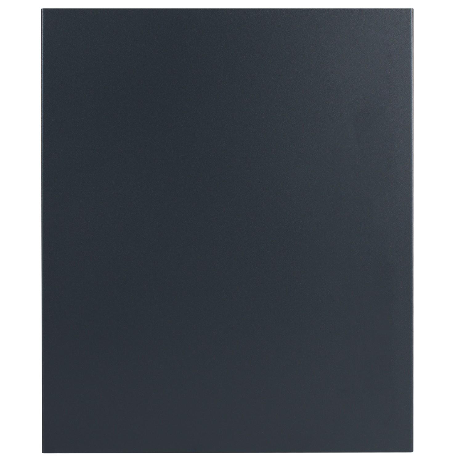 design briefkasten mit zeitungsfach anthrazit seidenglanz. Black Bedroom Furniture Sets. Home Design Ideas