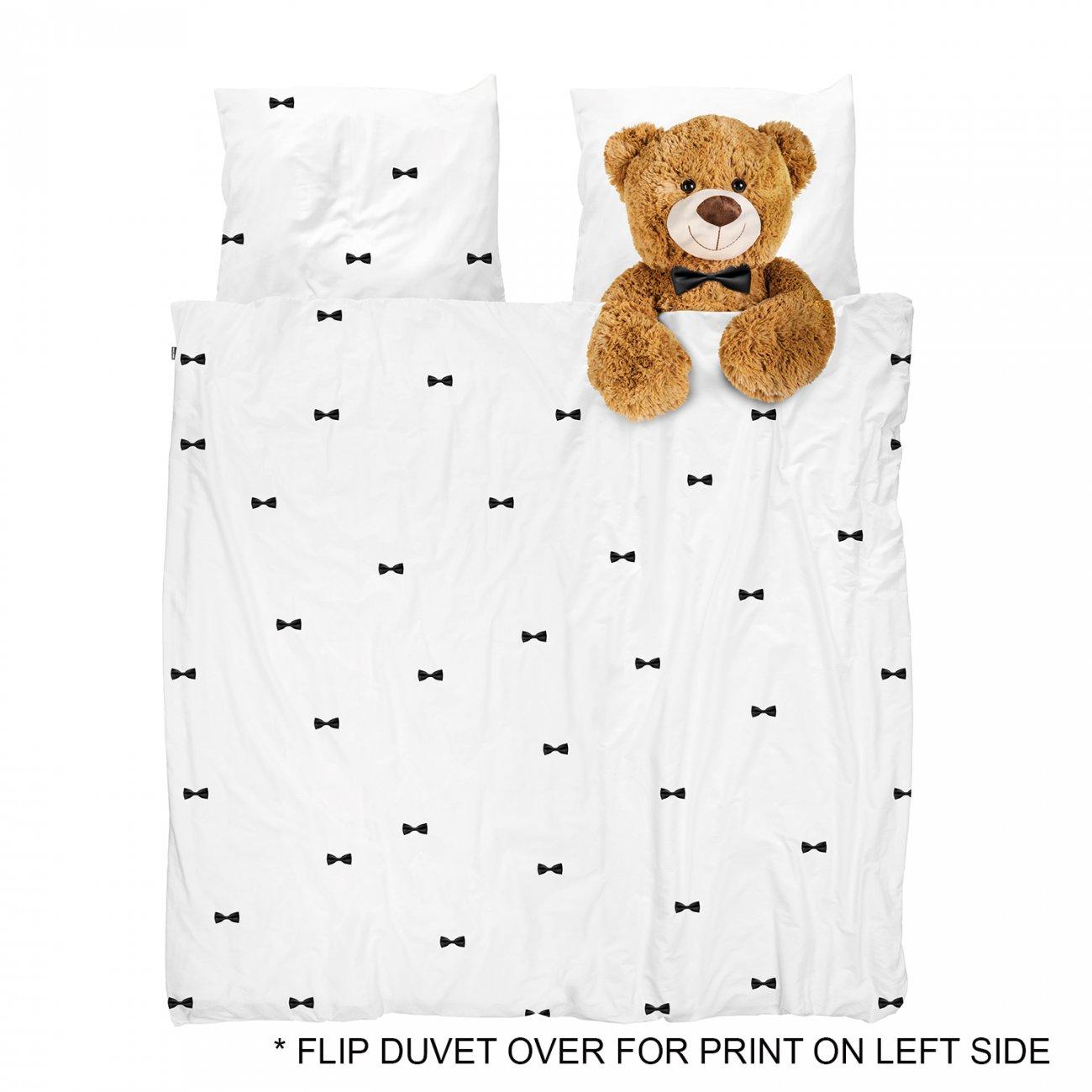 snurk bettw sche teddy 200 x 220 cm 100 baumwolle deko. Black Bedroom Furniture Sets. Home Design Ideas