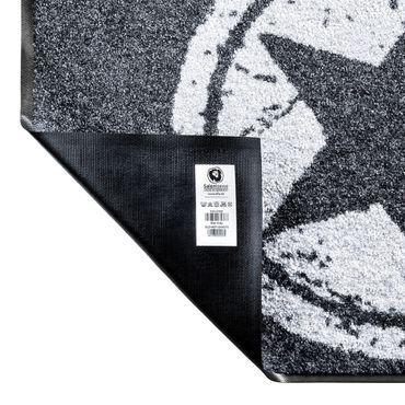 Salonloewe Fußmatte waschbar Nougat 75x75 cm Fußabtreter Schmutzfangmatte  – Bild 2