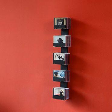 Radius CD-Baum Regal schwarz Wand 2 klein 726 A