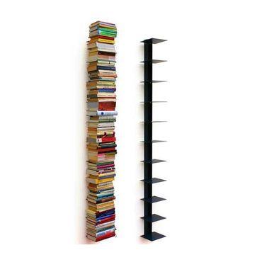 Haseform Bücherturm 170 cm (für 1,80 m Bücher) anthrazit Bücherregal Wandregal – Bild 1