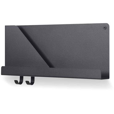 Muuto Folded Shelves small black Wandregal klein schwarz