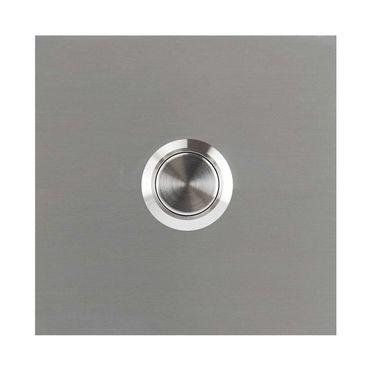 MOCAVI RING 110 Design-Klingel Edelstahl V2A quadratisch