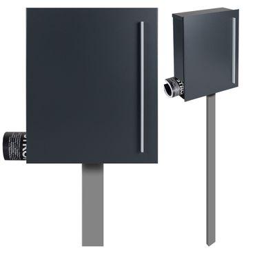 mocavi box 111 design briefkasten mit zeitungsfach. Black Bedroom Furniture Sets. Home Design Ideas