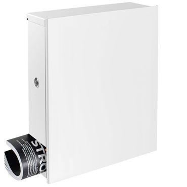 design edelstahl briefkasten mit zeitungsfach korpus anthrazit grau ral 7016 mocavi box 111va. Black Bedroom Furniture Sets. Home Design Ideas