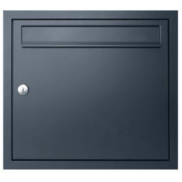 MOCAVI UP1 Unterputz-Briefkasten anthrazit-grau RAL 7016