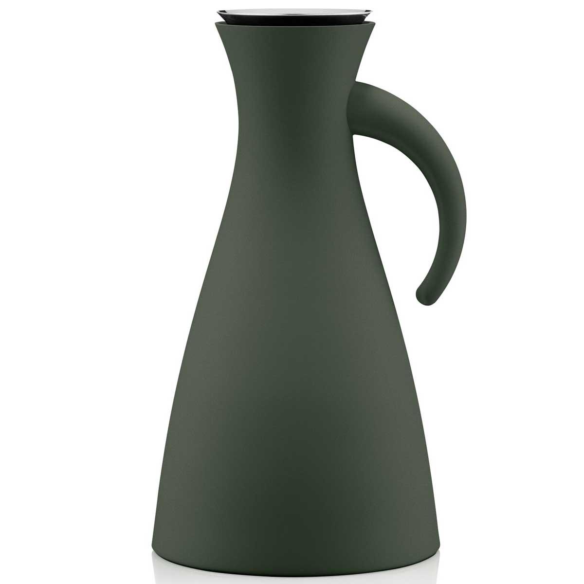 eva solo isolierkanne forrest green dunkelgr n 1 0 liter thermoskanne speisen servieren. Black Bedroom Furniture Sets. Home Design Ideas