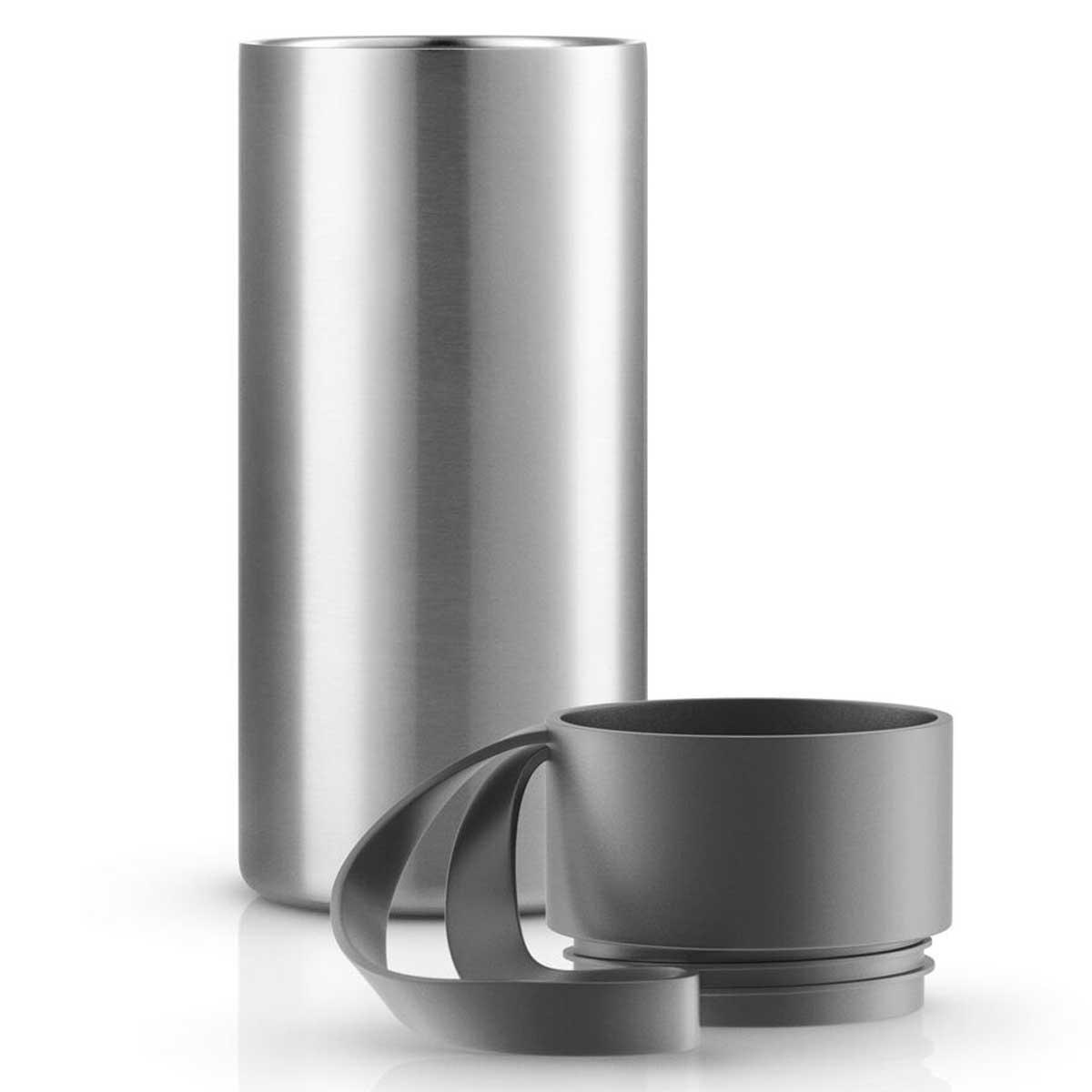 eva solo xl to go cup thermobecher grey grau 0 5 liter speisen servieren geschirr tassen. Black Bedroom Furniture Sets. Home Design Ideas