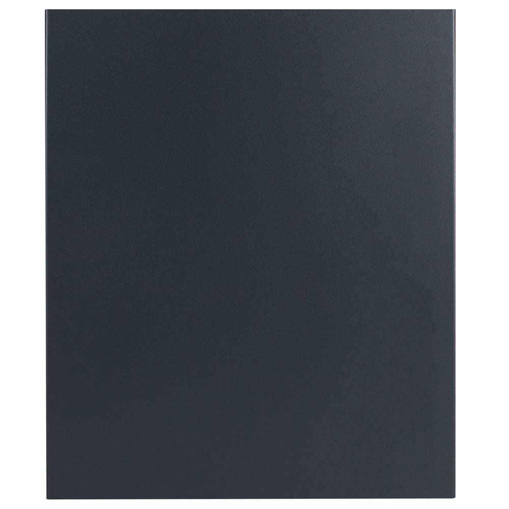 standbriefkasten mit zeitungsfach anthrazit grau. Black Bedroom Furniture Sets. Home Design Ideas