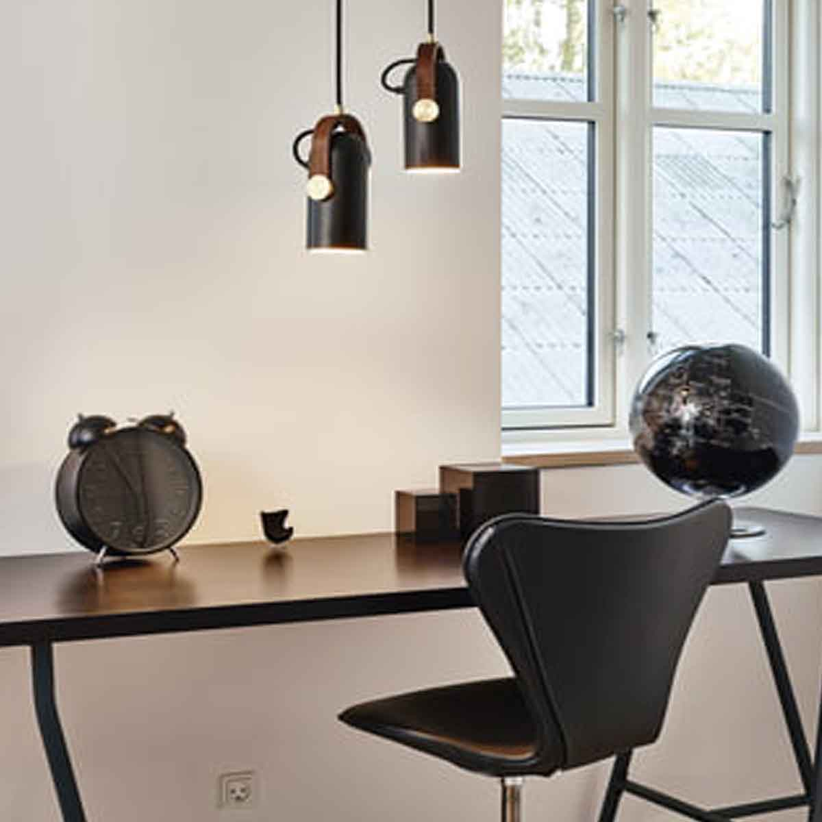 le klint h ngeleuchte carronade small schwarz durchmesser. Black Bedroom Furniture Sets. Home Design Ideas