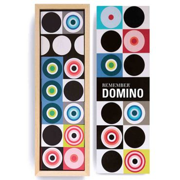 Remember Domino Anlegespiel mit 28 Steinen