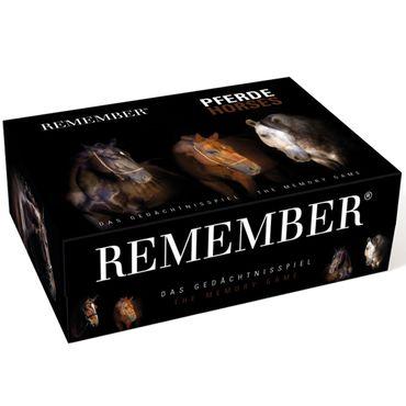 Remember Remember 44 Pferde Gedächtnisspiel