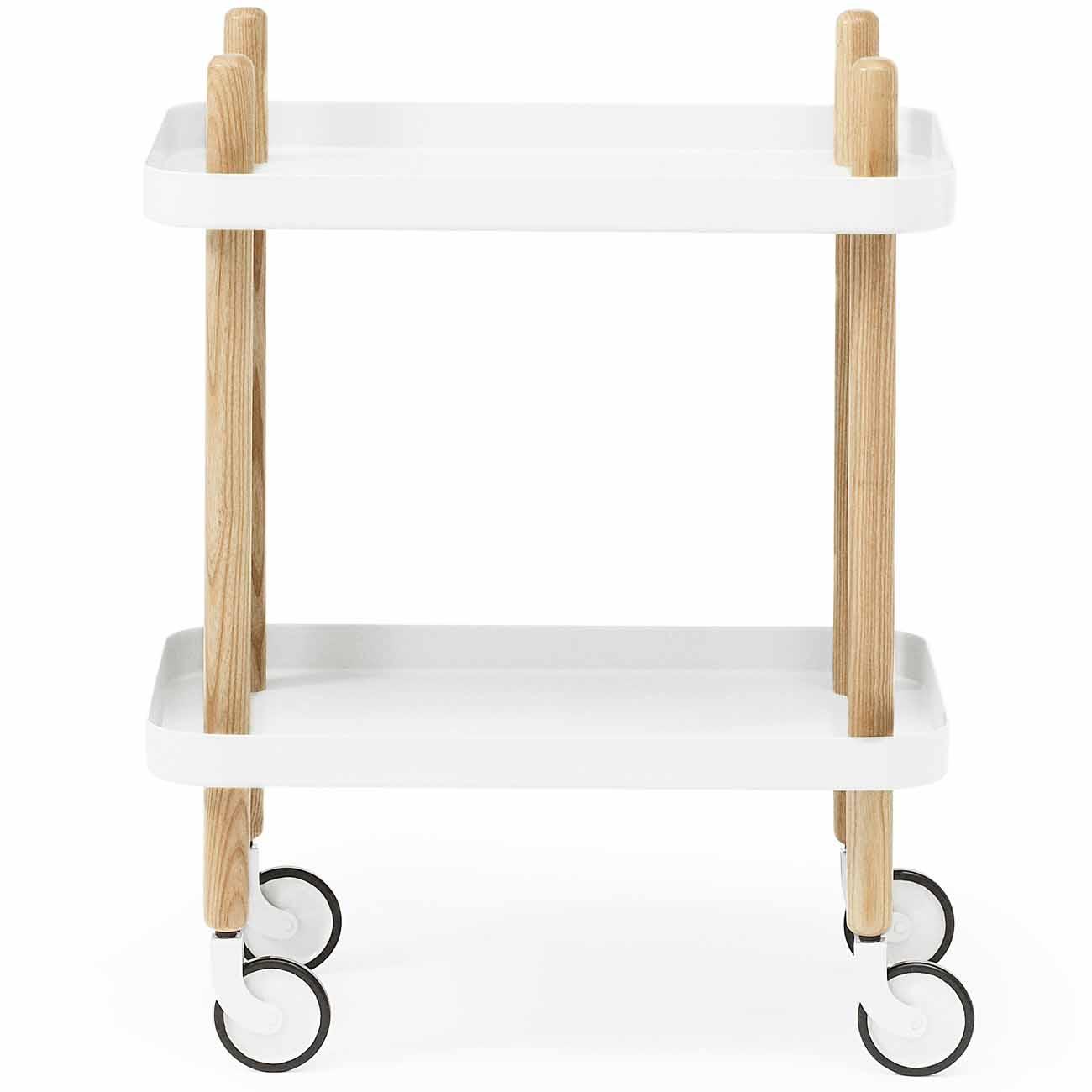 Normann Copenhagen Block Tisch Weiß Höhe 64 Cm