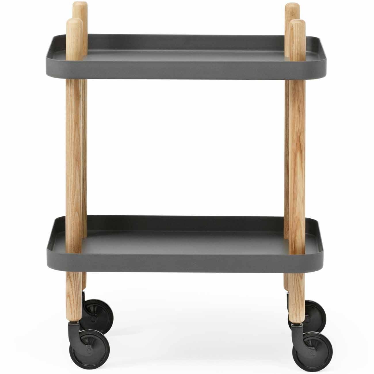 normann copenhagen block tisch dunkelgrau h he 64 cm m bel. Black Bedroom Furniture Sets. Home Design Ideas