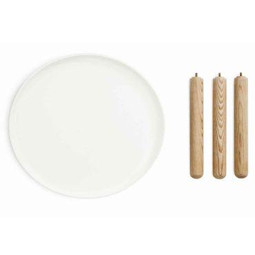 Normann Copenhagen Tablo Tisch klein weiß Durchmesser 50 cm – Bild 3