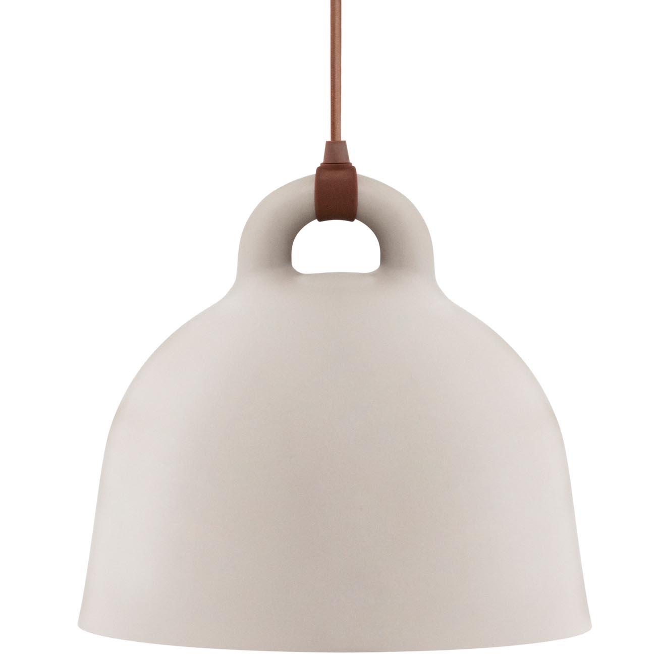 Normann Copenhagen Bell Lampe Medium Sand Höhe 44 001