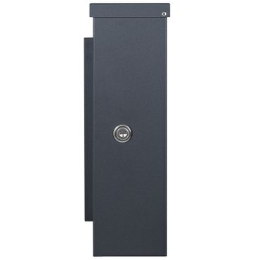 MOCAVI Box 103W Design-Briefkasten anthrazit-grau (RAL 7016) Sichtfenster  – Bild 5