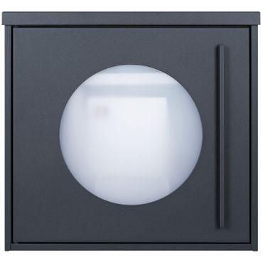 MOCAVI Box 105W Design-Postkasten anthrazit (RAL 7016) Sichtfenster