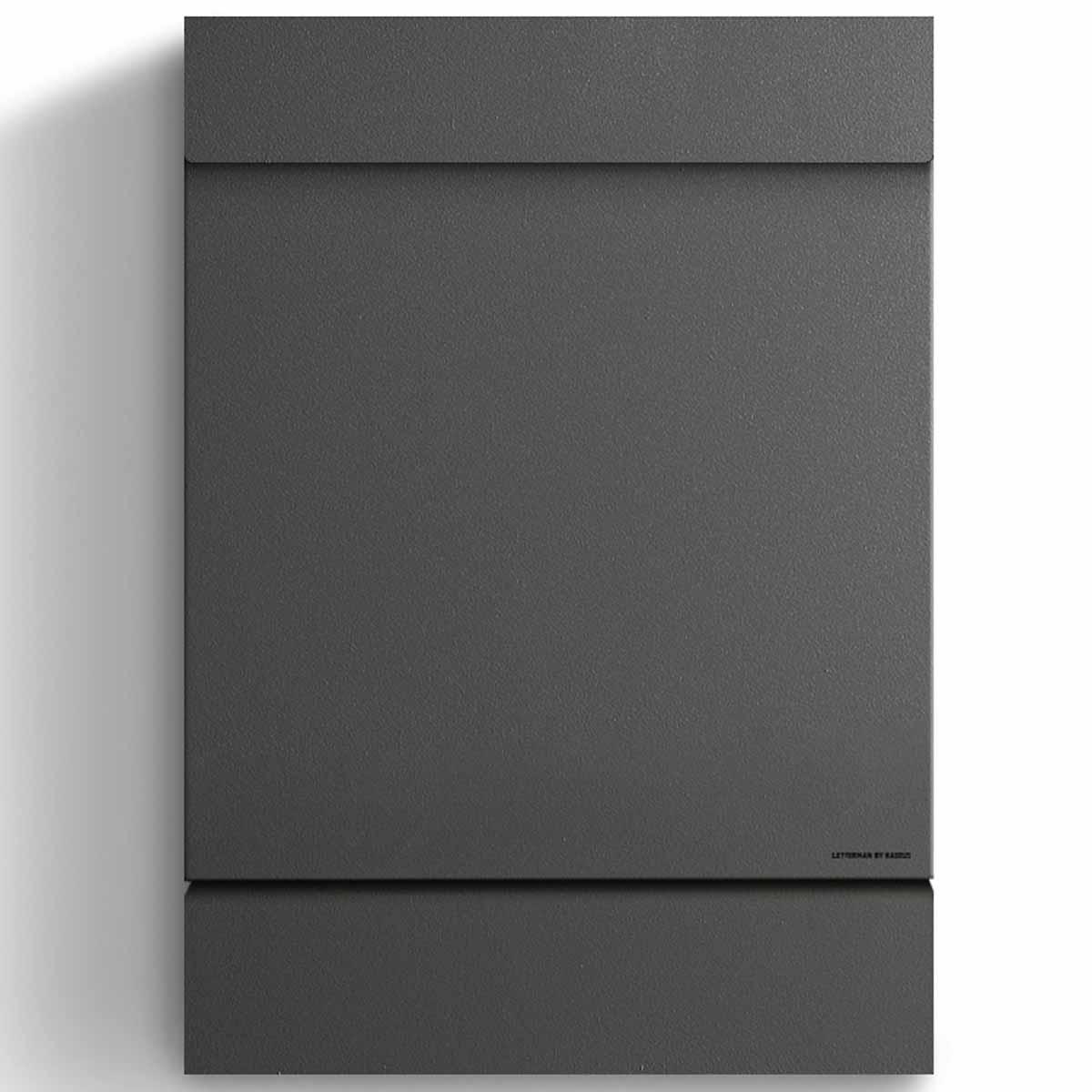 letterman m anthrazit ral 7016 radius briefkasten. Black Bedroom Furniture Sets. Home Design Ideas