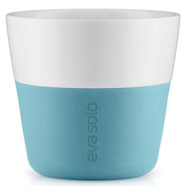 Eva Solo 2 Stück Caffé Lungo-Becher Arctic blue / hellblau 230 ml Kaffeebecher