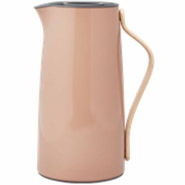 Stelton Emma Isolierkanne für Kaffee 1,2 Liter terracotta Kaffeekanne