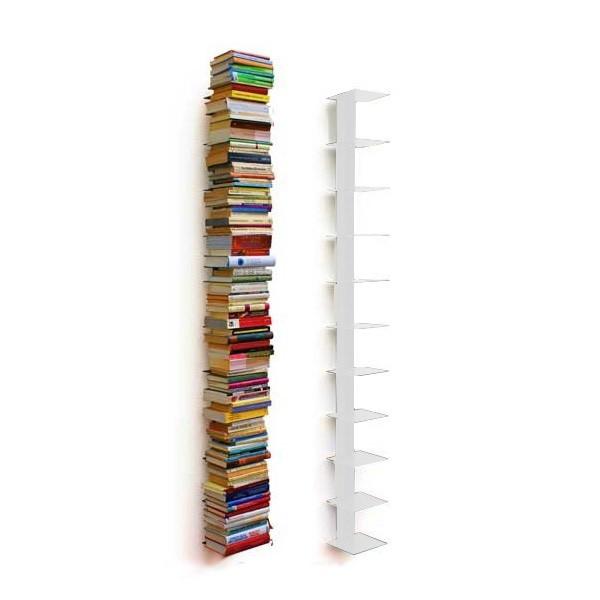 Haseform Bücherturm 170 cm (für 1,80 m Bücher) weiss Bücherregal Wandregal