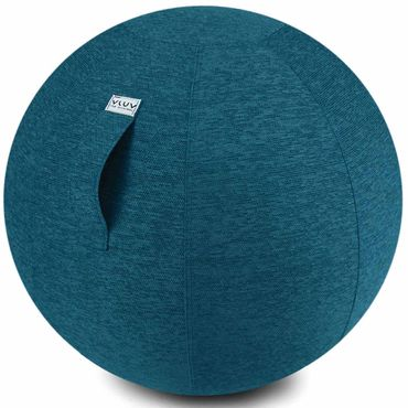 Vluv Stov Stoff-Sitzball Durchmesser 60-65 cm Petrol / Blau - Grün – Bild 1
