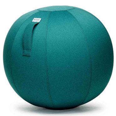Vluv Leiv Stoff-Sitzball Durchmesser 60-65 cm Dark Petrol / Blau - Grün  – Bild 1