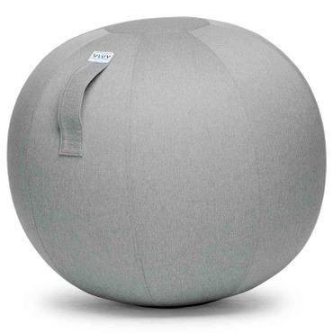 Vluv Leiv Stoff-Sitzball Durchmesser 60-65 cm Silber / Hellgrau