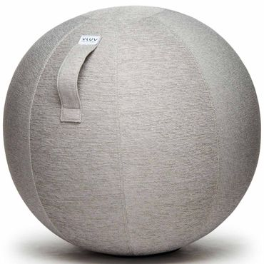 Vluv Stov Stoff-Sitzball Durchmesser 50-55 cm Concrete / Hellgrau – Bild 1