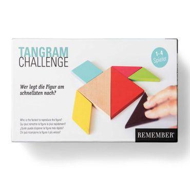 Remember Tangrams Holz Formen- und Legespiel aus China