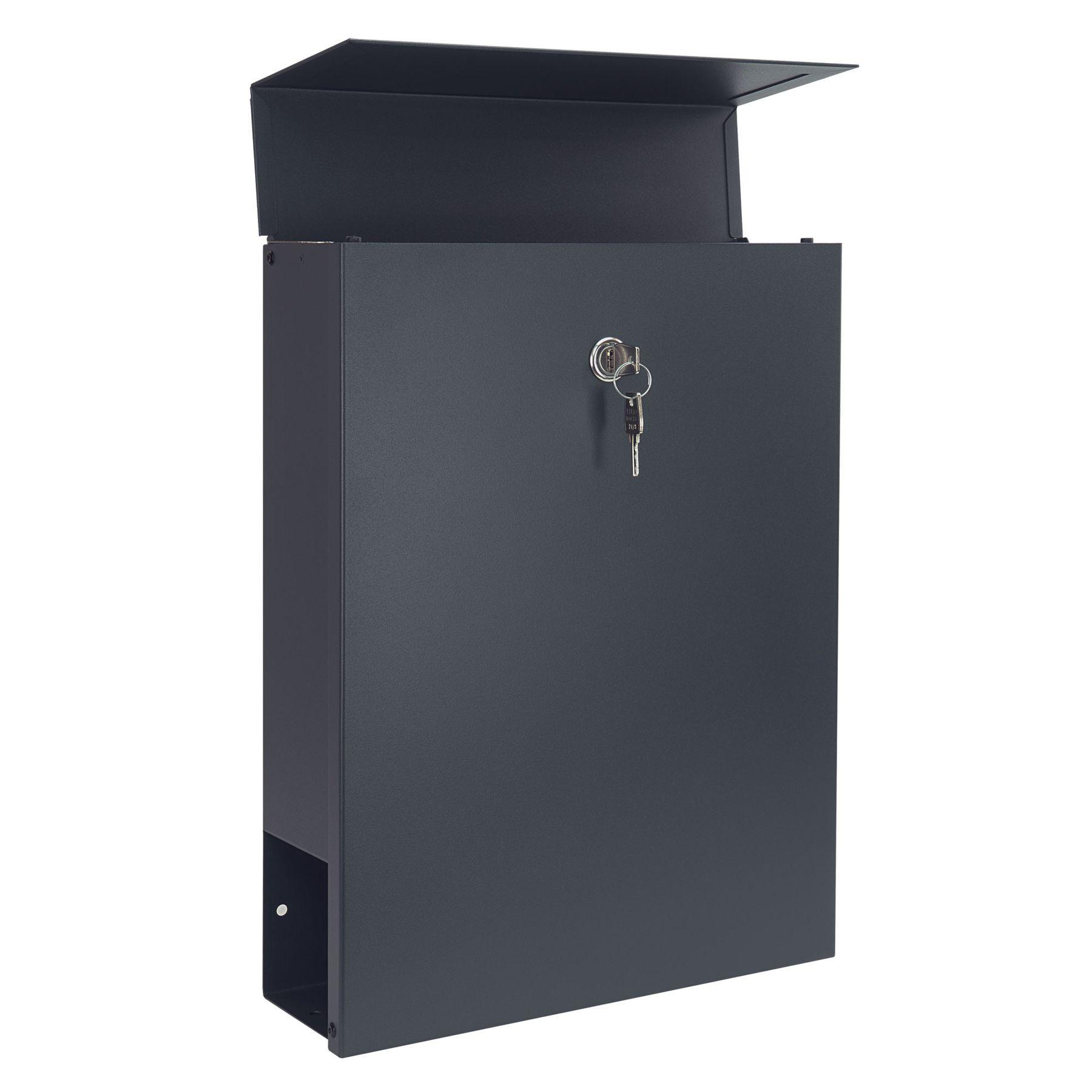 mocavi sbox 500 moderner briefkasten freistehend mit. Black Bedroom Furniture Sets. Home Design Ideas
