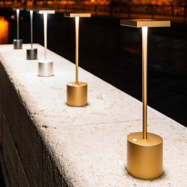 Absolut Liberty Light Akkuleuchte Titan gold Tischleuchte – Bild 3